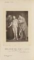 Madame Schmidt as Madame Pierrot; Jane May as Pierrot Junior; Monsieur Courtès as Pierrot Senior in 'L'enfant Prodigue', by Alfred Ellis, published by  Eglington & Co - NPG Ax28822