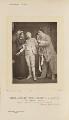 Madame Schmidt as Madame Pierrot; Jane May as Pierrot Junior; Monsieur Courtès as Pierrot Senior in 'L'enfant Prodigue', by Alfred Ellis, published by  Eglington & Co - NPG Ax28822