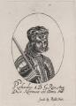 King Richard I ('the Lionheart'), probably after William Faithorne - NPG D33926