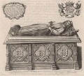 King John's tomb in Worcester Cathedral, after Unknown artist - NPG D33930