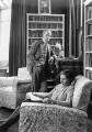 George Douglas Howard Cole; Dame Margaret Isabel Cole, by Howard Coster - NPG x10859