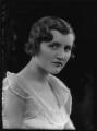 Margaret Constance Quinton (née Vesey), by Bassano Ltd - NPG x153941