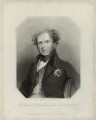 Richard William Penn Curzon, 1st Earl Howe, by Richard Austin Artlett, after  George Raphael Ward - NPG D33932
