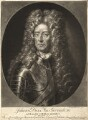 John Churchill, 1st Duke of Marlborough, by Pieter Schenck, after  Adriaen van der Werff - NPG D9329
