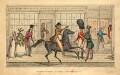 Votaries of Fashion. St. James's. Lord Petersham, etc. (Charles Stanhope, 4th Earl of Harrington), by Joseph Grego - NPG D9331
