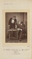 Herbert Waring as Sir Brice Skene; Sir George Alexander as David Remon in 'The Masqueraders', by Alfred Ellis - NPG Ax28859