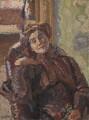 Stanislawa Bevan (née de Karlowska), by Harold Gilman - NPG 6878
