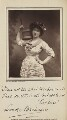 Leonora Braham as Patience in 'Patience', by London Stereoscopic & Photographic Company, published by  Charles Dickens & Evans - NPG Ax35619