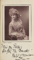 Violet Cameron (Violet Lydia Thompson), possibly by London Stereoscopic & Photographic Company, published by  Charles Dickens & Evans - NPG Ax35621
