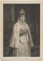 Queen Alexandra, published by Raphael Tuck & Sons, after  Isaac Snowman - NPG D33957
