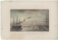 'The Royal Yacht off Margate, Night of March 5th 1863', by Robert Charles Dudley - NPG D33983