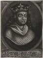 King Edward I, by John Carwitham, after  Unknown artist - NPG D33889