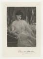 Alexandra Harriet (née Paget), Lady Colebrooke, by Frederick John Jenkins, after  Jean Joseph Benjamin-Constant - NPG D34023