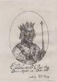 King Edward II, probably after William Faithorne - NPG D33892