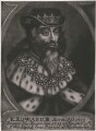 King Edward III, by John Carwitham, after  Unknown artist - NPG D33898