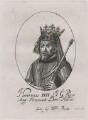King Henry IV, probably after William Faithorne - NPG D33906