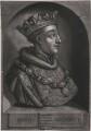 King Henry V, by John Faber Jr, after  Unknown artist - NPG D33911