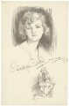 Gladys Cooper, after Charles Buchel (Karl August Büchel), and after  John Hassall - NPG D34108