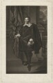 Francis Cottington, 1st Baron Cottington, by Robert Dunkarton, after  Paul van Somer - NPG D34157