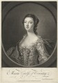 Maria (née Gunning), Countess of Coventry, by Richard Houston, after  Francis Cotes - NPG D34175