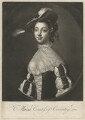 Maria (née Gunning), Countess of Coventry, after Francis Cotes - NPG D34177