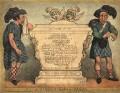 A Scotch Sarcophagus, by Thomas Rowlandson - NPG D9332