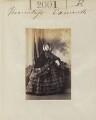 Madeline Honorine (née Dobrowolska), Viscountess Exmouth, by Camille Silvy - NPG Ax51391