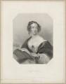 Anne Florence (née de Grey), Countess Cowper, by William Henry Mote, after  John Hayter - NPG D34199