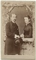 Prince Arthur, 1st Duke of Connaught and Strathearn; Princess Louise, Duchess of Connaught (née Princess of Prussia), after Léon Abraham Marius Joliot - NPG Ax131371