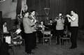 'The Humphrey Lyttelton Band', by Harry Hammond - NPG x132381
