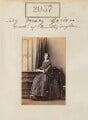 Lady Mary Katherine Turnor (née Gordon), by Camille Silvy - NPG Ax51447