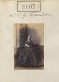 Catharine Elizabeth Tottenham (née Stapleton), by Camille Silvy - NPG Ax51495