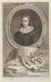 John Milton, by Jacobus Houbraken, published by  John & Paul Knapton - NPG D9360