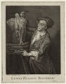 Louis François Roubiliac, by Thomas Chambers (Chambars), after  Adrien Carpentiers (Carpentière, Charpentière) - NPG D34287