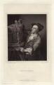 Louis François Roubiliac, by John William Cook, published by  John Major, after  Adrien Carpentiers (Carpentière, Charpentière) - NPG D34286