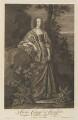Katherine Stanhope (née Wotton), Countess of Chesterfield, by Pieter Stevens van Gunst, after  Sir Anthony van Dyck - NPG D34294