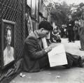 Frank Auerbach, by Daniel Farson - NPG x25194
