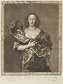 Elizabeth (née Brydges), Countess Castlehaven, by Pierre Lombart, after  Sir Anthony van Dyck - NPG D34302