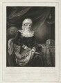 Selina Gally Knight (née Fitzherbert), by Samuel William Reynolds, published by  Colnaghi, Son & Co, after  Henry Edridge - NPG D34271