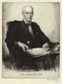 John Galsworthy, by Edmund Joseph Sullivan - NPG D34272