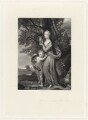 Frances Anne Crewe (née Greville), Lady Crewe; possibly William Fulke Greville, by Robert Bowyer Parkes, after  Sir Joshua Reynolds - NPG D34249