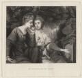 Harriet Bouverie (née Fawkener, later Lady Robert Spencer); Frances Anne Crewe (née Greville), Lady Crewe, by Samuel William Reynolds, after  Sir Joshua Reynolds - NPG D34307
