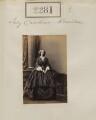 Caroline Margaret (née Fox-Strangways), Lady Kerrison, by Camille Silvy - NPG Ax51669