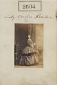 Caroline Margaret (née Fox-Strangways), Lady Kerrison, by Camille Silvy - NPG Ax51993