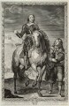 Oliver Cromwell, by Pierre Lombart, after  Sir Anthony van Dyck - NPG D34326