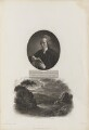 Joseph Townsend with 'View of the Escurial by Moon Light', by William Holl Sr, after  John Opie, and by  Thomas Milton, after  John Townsend, published by  Robert John Thornton - NPG D34350