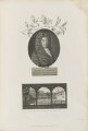 Nehemiah Grew with 'Gresham College, where the first Meetings of the Royal Society were held', probably by James Newton, published by  Robert John Thornton, after  Robert White - NPG D34354