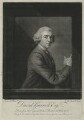David Garrick, by and sold by James Macardell, after  Jean Etienne Liotard - NPG D34373