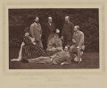 'Group taken at Hughenden Manor', by Henry William Taunt & Co, published by  A.W. Cowan - NPG Ax27804