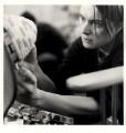 Sarah Lucas, by Johnnie Shand Kydd - NPG x88366